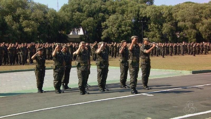 Tropas do Exército vão auxiliar na segurança da eleição no AM
