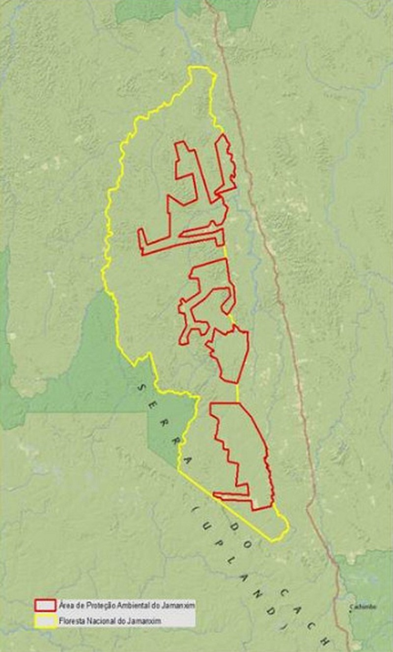 Ministério do Meio Ambiente-Mapa Jamanxim