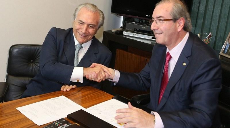 ADTE466  BSB -  10/03/2015  -  PMDB / CONGRESSO  -  POLITICA - Vice presidente Michel Temer visita o presidente da Câmara dos Deputados Eduardo Cunha na Câmara dos Deputados, em Brasília.  FOTO: ANDRE DUSEK/ESTADAO