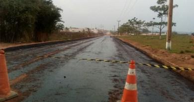 asfalto pavimentação