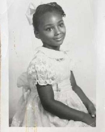 Fornecido por El Pais Brasil Sherry Johnson, aos sete anos de idade.