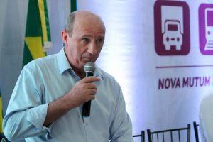 (Ministro Neri Geller:Foto Gilberto Leite/Rdnews- - Secretário Nacional de Política Agrícola do Ministério da Agricultura Neri Geller (PP) durante evento do Fórum