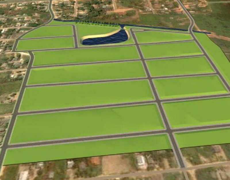 Loteamento oferece infraestrutura em Novo Prgresso