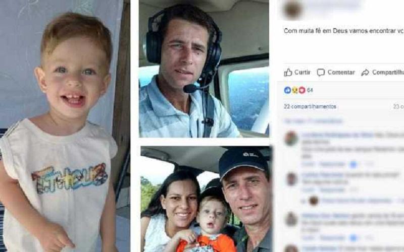 Família é encontrada morta junto com destroços de avião em MT