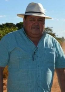 Prefeito Assassinado Esvandir Antonio Mendes (PSB)