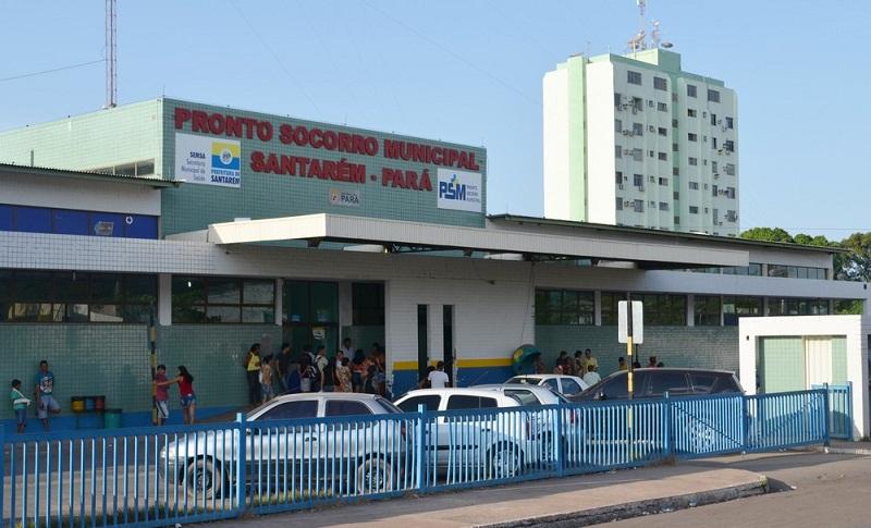 Pronto Socorro de Santarém, no oeste do Pará (Foto: Adonias Silva/G1)