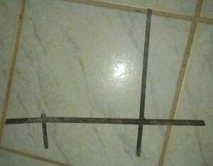 Pedaço de ferro serrado pelos presos.