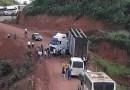 Desvio a 1km da cidade de Brasil Novo sentido Medicilândia está com tráfego interrompido