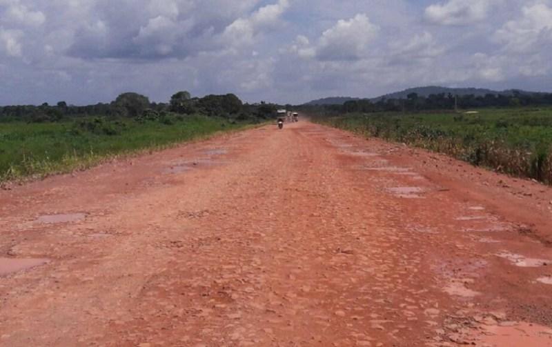 BR 163 (Foto Jornal Folha do Progresso)
