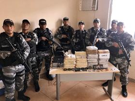 Grupo Tático: Tenente Jodan, sargento Sérgio, cabos F.Sousa, Aramanahy, Aquino, Clézio, soldados Maurício e Herivelton.
