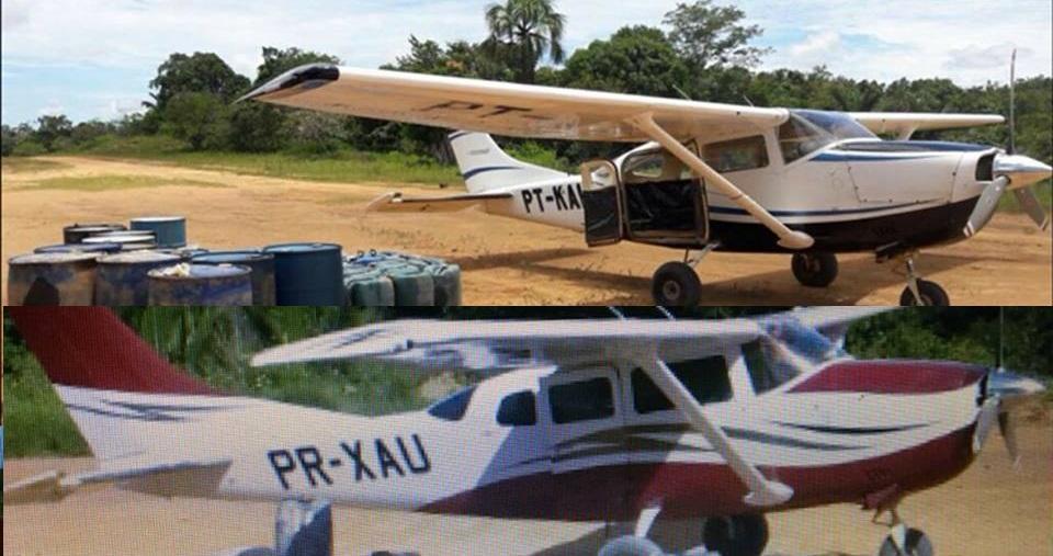 Em Itaituba duas aeronaves são roubadas