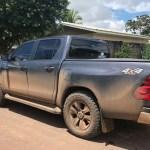 Caminhonete roubada no Mato Grosso é recuperada no  Pará
