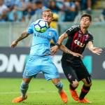 Grêmio não consegue marcar e empata com Atlético Paranaense no Brasileirão