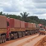 BR-163: chuvas deixam Moraes Almeida e Novo Progresso com tráfego interditado