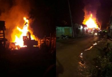 Incêndio destrói  residências no Crepurizinho