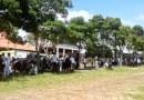 Em greve, servidores da saúde acampam em frente à casa do prefeito de Monte Alegre