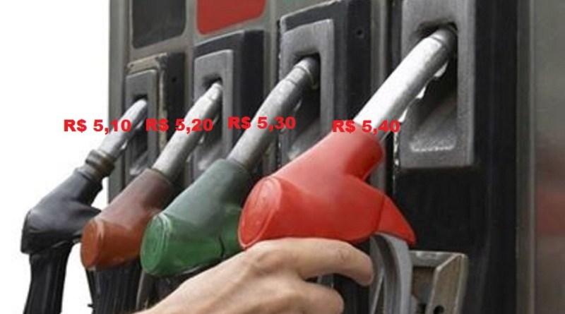 Gasolina de Novo Progresso é a mais cara do Brasil