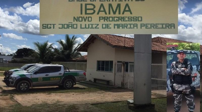 Policial Militar morto em 2016 dá nome à sede do IBAMA de Novo Progresso