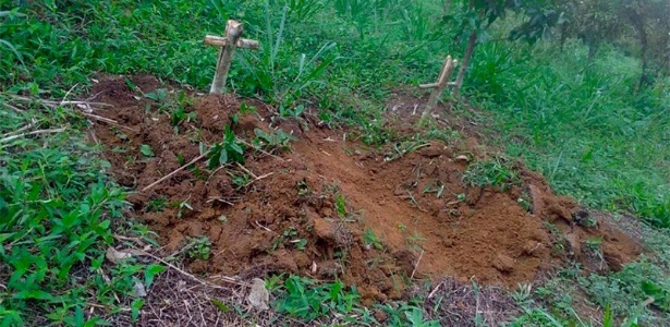 (Foto:Arquivo pessoal)- Duas covas foram cavadas no quintal da casa de Osvalinda e Daniel Pereira, no que foi entendido como mais uma ameaça de morte contra o casal