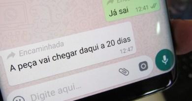 WhatsApp Beta passa a dizer se mensagem é encaminhada