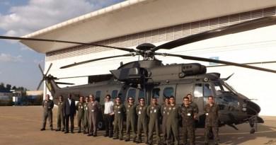 Helibras entrega 10° helicóptero H225M ao Exército Brasileiro