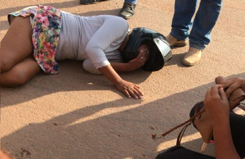 Recém Construida- Rotatória faz a primeira vítima de transito em Novo Progresso