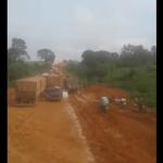 Motorista em vídeo mostra caos na BR 163 e cita voto para Bolsonaro