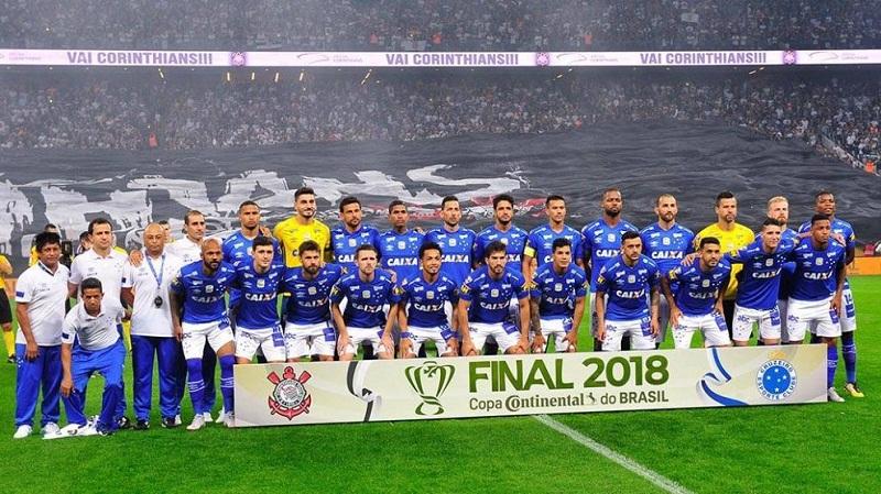Posado do Cruzeiro x Corinthians, partida válida pela final da Copa do Brasil 2018, na capital paulista. 17/10/2018, Foto: Djalma Vassão/Gazeta Press