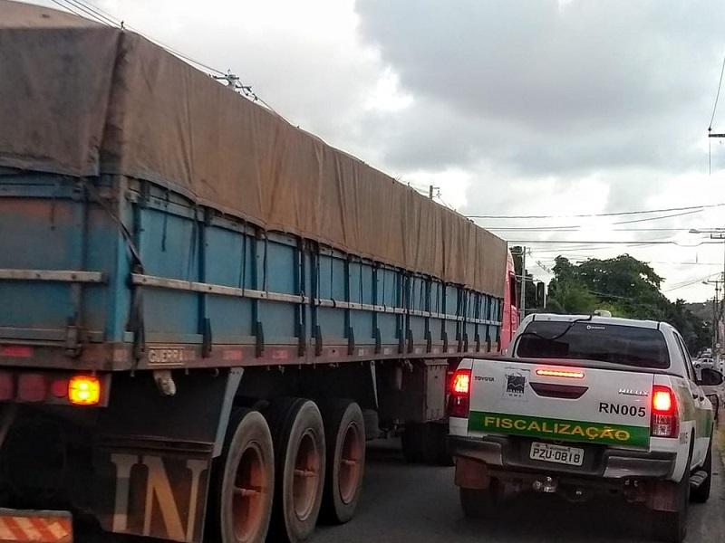 Ação ocorreu na tarde desta segunda-feira (29) — Foto: Acson Freitas/Inter TV Cabugi