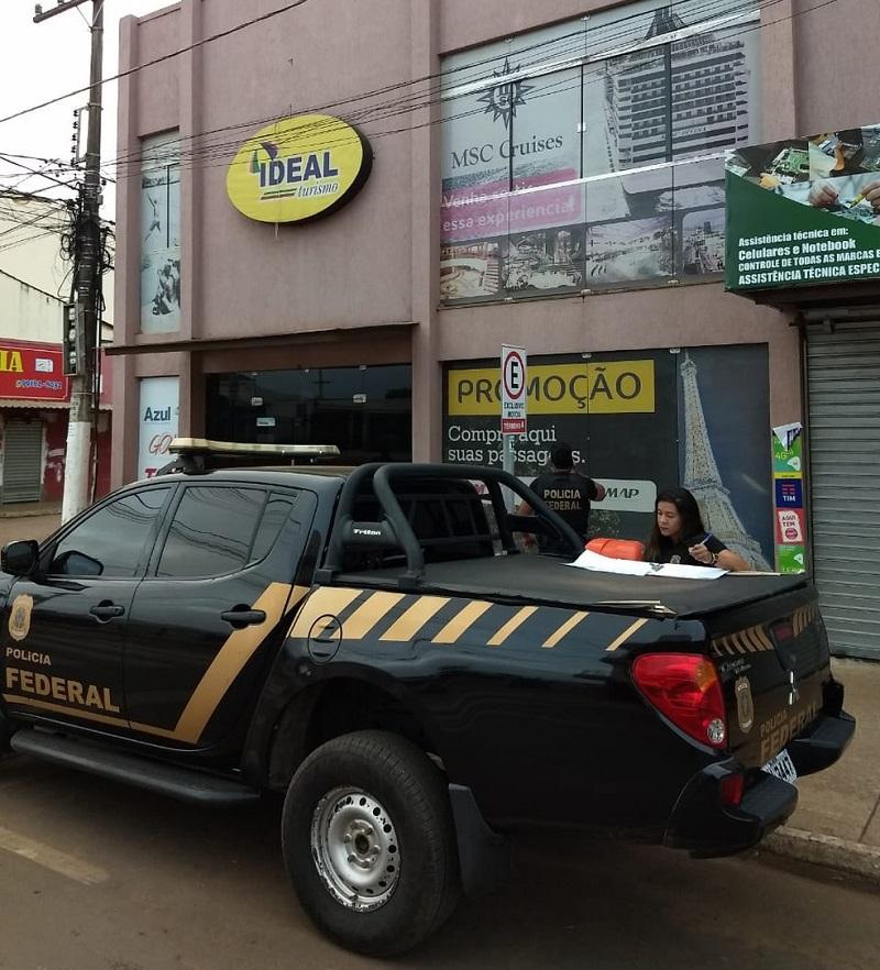 Operação da PF com a Receita Federal cumpre mandados no Pará e no DF. — Foto: Divulgaçã / Polícia Federal