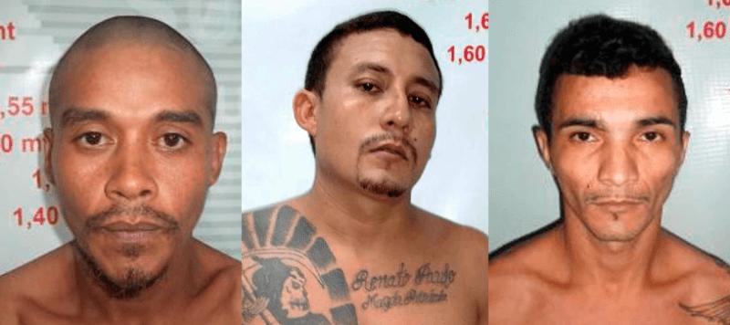 Nunes da Costa, Renato Dias Pereira e Rilson da Silva Nazaré