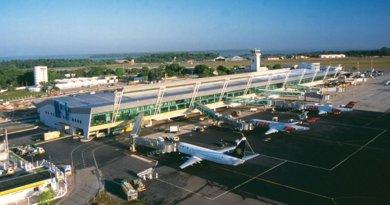 Aeroporto de Belém passa por obra em pista (Foto: Reprodução/Infraero)