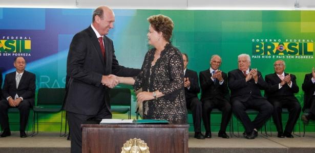 Roberto Stuckert Filho - 17.mar.2014/Divulgação/PR Deputado federal eleito pelo PP em MT, Geller foi ministro da Agricultura de Dilma Operação tem base na delação de Funaro