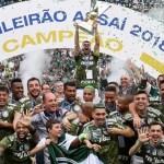 Bruno Henrique marca no fim e Palmeiras coroa título vencendo o Vitória