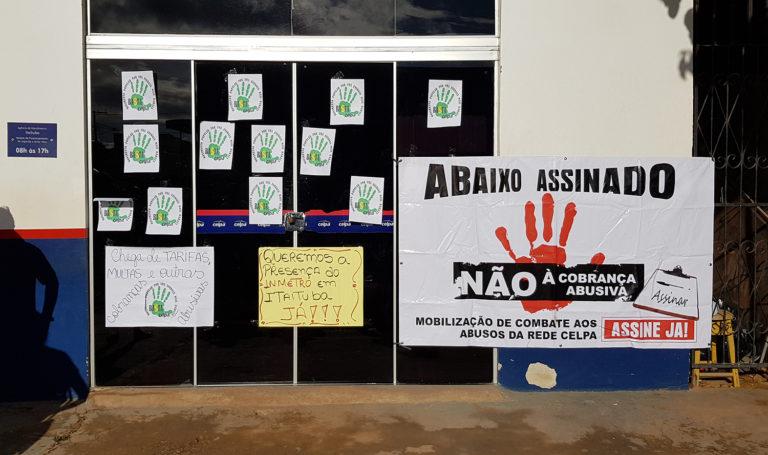 Organização pretende organizar outras manifestações. (Foto: Richardson Vieira)