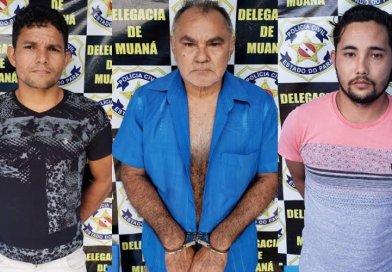 Três são presos acusados de estupros no Pará