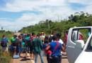 Indígenas protestam contra transferência da demarcação de terras indígenas