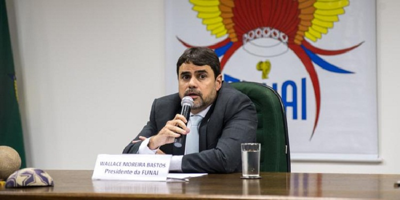 Wallace Bastos, que pediu exoneração