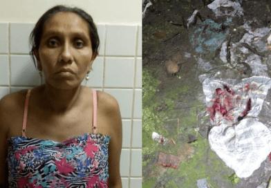 Mãe é presa por jogar fora filho recém-nascido