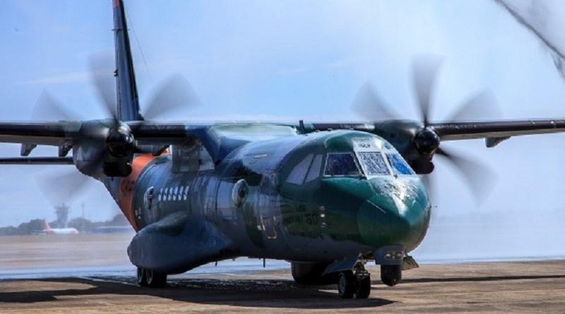 Aeronave SC-105 Amazonas tem tecnologia avançada para fazer operações de buscas e salvamentos — Foto: Força Aérea Brasileira/Divulgação