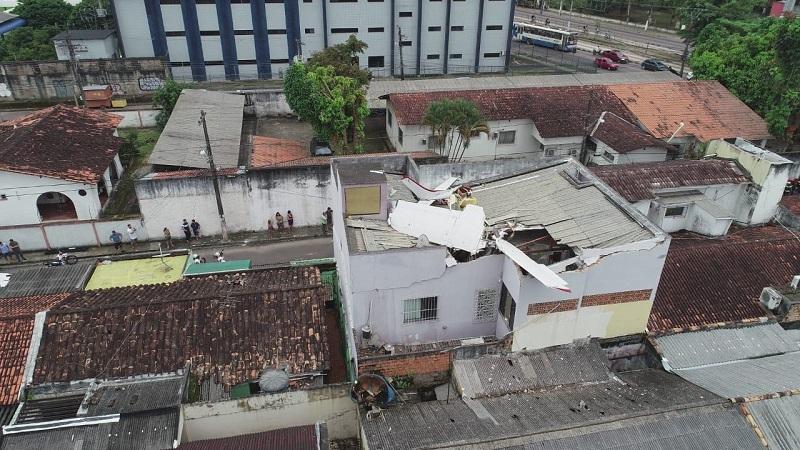 Queda de Avião Monomotor em Belém - Luciano Alma (2)