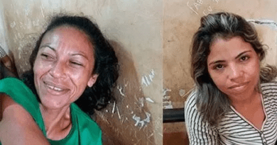 mulheres presa por droga