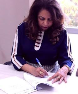 Promotora Cândida Nascimento, procuradora-geral em exercício