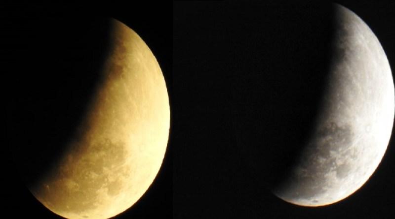 Eclipse parcial da Lua pode  ser visto em Novo Progresso