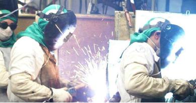 queda de produção industrial