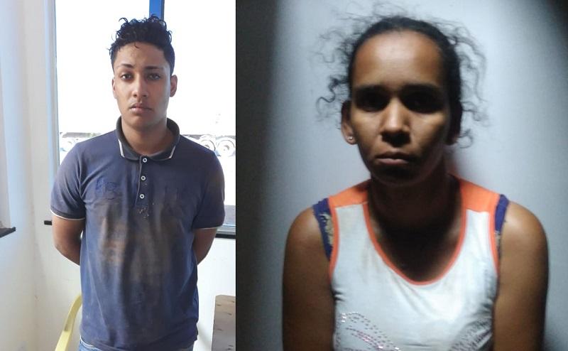 Matheus Campos de Oliveira e Jessyka Ramos de Arruda (Foto:Divulgação Policia)