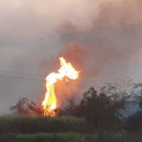"""Número de focos de incêndio em Novo Progresso marcou """"Dia do Fogo""""."""