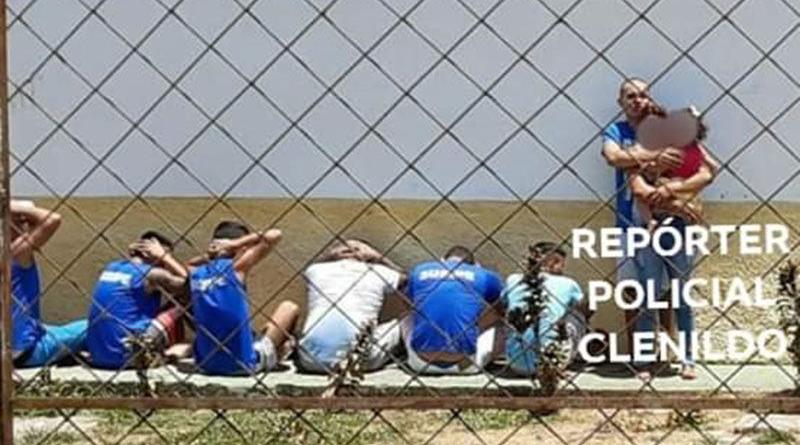 detento faz criaça de 8 anos de refem