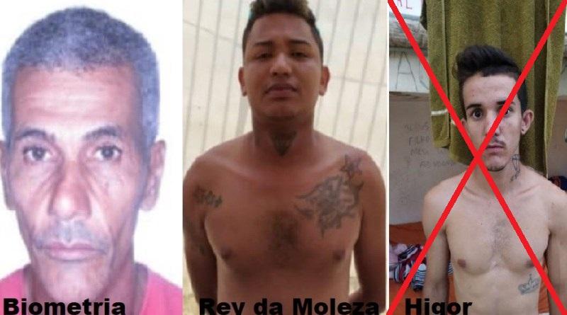 Os presos resgatados foram identificados como Higor de Freitas Bispo, Lero Antonio de Sousa e Jhonny de Jesus Silva. (Foto:Reprodução Jornal Folha do Progresso)