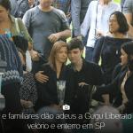 Apresentador Gugu Liberato é enterrado sob aplausos em São Paulo